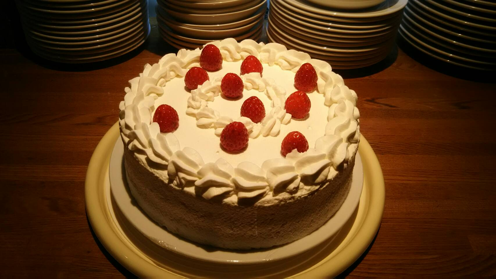 しょうりのケーキ
